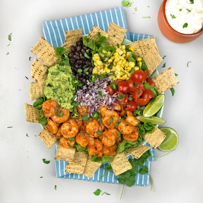 Mexican Prawn Taco Bowl